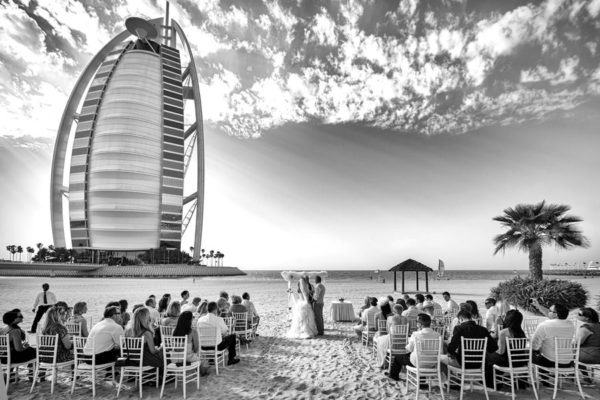 Jumeirah Beach Hotel - Beach Wedding